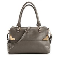 Melie Bianco Alicia Gold Rand Satchel