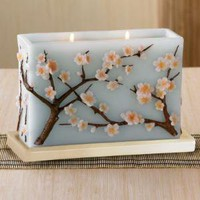Cherry Blossoms Candle from RedEnvelope.com