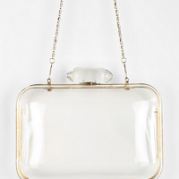 I See You Clear Hard-Case Shoulder Bag - Urban Outfitters