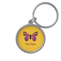 Impossible Butterfly Key Chain