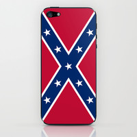 Confederate flag iPhone & iPod Skin by LonestarDesigns2020 - Flags Designs +
