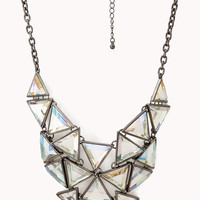 Angular Bib Necklace