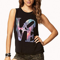 Cosmic Love Muscle Tee