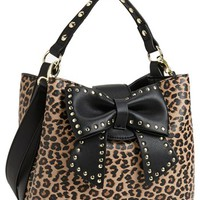 Betsey Johnson 'Hopeless Romantic II' Faux Leather Bucket Bag | Nordstrom