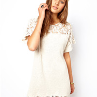 ASOS Crochet Lace Detail Tunic