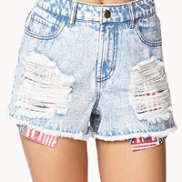 Patriotic Pocket Cut Offs