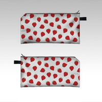 Strawberries by Ornaart (Pencil case)