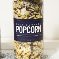 Holiday Popcorn - Hanukkah