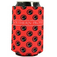 Logo Koozie in Red by Southern Proper