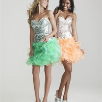 Limited Edition Night Moves Dresses - Limited Edition NP752 Prom Dress - V1677-1, V1677-02