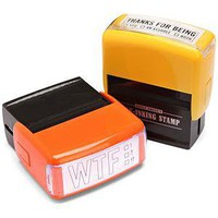 ThinkGeek :: Rude Self-Inking Stamps