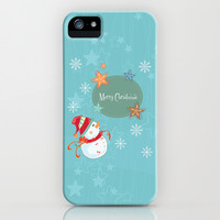 Merry Christmas iPhone & iPod Case by MadTee