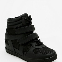 Deena & Ozzy Tonal Strap Hidden Wedge High-Top Sneaker - Urban Outfitters