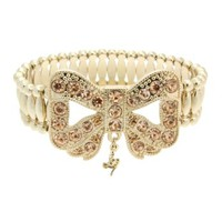 Lipsy Embellished Bow Stretch Bracelet