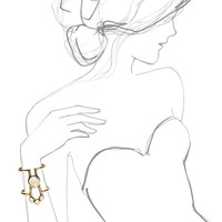 Comet Cuff by Pamela Love for Preorder on Moda Operandi
