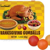 THANKSGIVING GUMBALLS