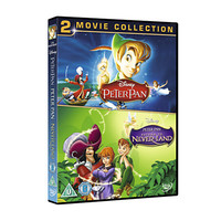 Disney Peter Pan 1 & 2 Double Pack DVD | Disney Store