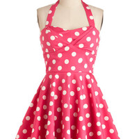 Traveling Cupcake Truck Dress in Pink | Mod Retro Vintage Dresses | ModCloth.com