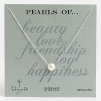 Dogeared Boxed Freshwater Pearl Necklace