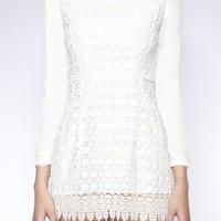 Chic crochet dress