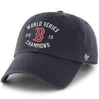 Boston Red Sox 2013 World Series Champions Fitted Cap by '47 Brand