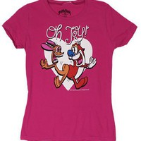 Oh Joy - Ren And Stimpy Sheer Women&#x27;s T-shirt