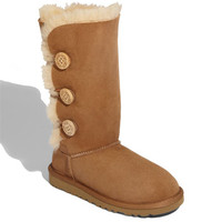 UGG Australia 'Bailey Button Triplet' Boot (Little Kid