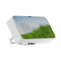 Nature Grass & Sky Photo iPhone Speaker