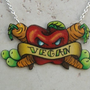 One Bad Apple Vegan Vegetarian Inspired Tattoo by orangyredink