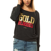 The Gold Blooded Wide-Neck Pullover