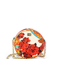 Dolce & Gabbana - Miss Glam Printed Brocade Crossbody Bag
