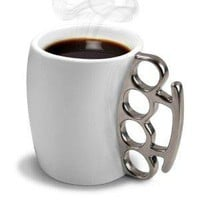 Fred and Friends FISTICUP Ceramic Knuckleduster Mug