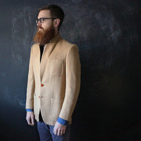 Vintage Halston Single-Breasted Blazer.