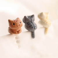 Kitty Earphone Cap