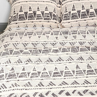 Magical Thinking Stamped Geo-Point Sham - Set Of 2 - Urban Outfitters