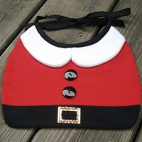 Supermarket: Santa Baby Bib by Stitch from Stitch