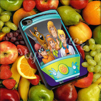 Scooby Doo in Car - for iPhone 4/4s, iPhone 5/5s/5c, Samsung S3 i9300, Samsung S4 i9500 Hard Case Plastic