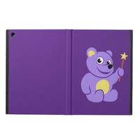 Purple Teddy Bear Fairy iPad Air Cover