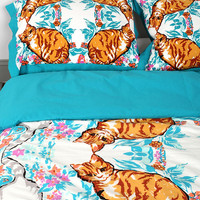 Plum & Bow Cat Kaleidoscope Sham - Set Of 2 - Urban Outfitters