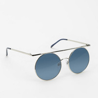 Light Speed Round Sunglasses - Urban Outfitters