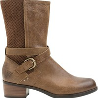 UGG LULA MAE DISTRESSED LEATHER MID BOOT