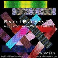 Loom Work Beaded Bracelets Pattern Book Seed Bead Delicas