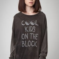 SAMANTHA COOL KIDS ON THE BLOCK TOP