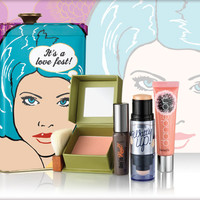 let's glow, lovely! > Benefit Cosmetics