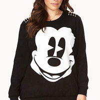 Edgy Mickey Mouse Sweatshirt
