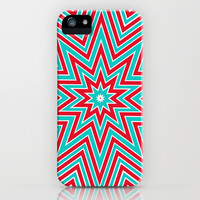 Christmas star iPhone & iPod Case by Sylvia Cook Photography