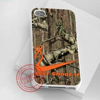 iphone 4/4s case - iphone 5 case - samsung galaxy s3 - samsung galaxy s4 - Nike Shoot It Browning - photo print on hard plastic