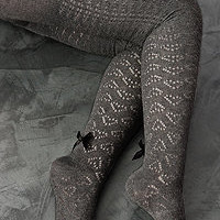 Sock Dreams  Betsey&#x27;s Cozy Heart Cashmere Tights