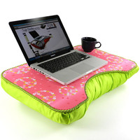 Peaceful Pink Large Lap Desk
