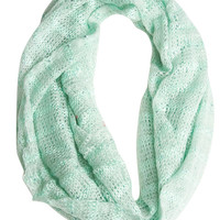 Lightweight Sequin Eternity Scarf